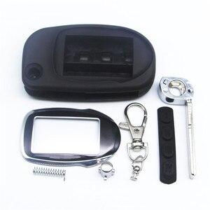 Чехол для ключей M7 switchblade для Scher Khan magicar 7 9, чехол для fob uncut blade, M7 M9, Складной автомобильный пульт дистанционного управления + стекло для ключе...