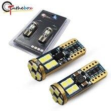 Gtinthebox T10 W5W LED Angel Eyes Anel Marcador Lâmpadas LED para BMW 525i 530i 545i E60 5 Série Pré- versão LCI Halogênio Farol