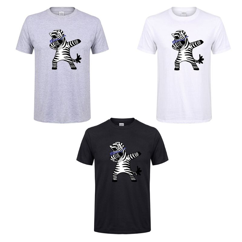 Men 39 s Short T shirts Fashion Animal Unicorn Print Hipster Funny T Tee Shirt Men Summer Casual Street Hip hop Male Tops S 2XL in T Shirts from Men 39 s Clothing