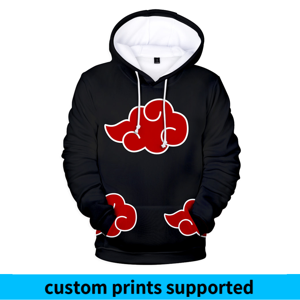 Naruto 3D Printed Hoodies Women/Men 2018 Hot Sale Long Sleeve Casual Hooded Sweatshirts Anime Fashion Streetwear Clothes Custom