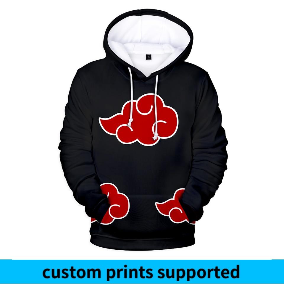 Naruto 3D Printed Hoodies Women/Men 2018 Hot Sale Long Sleeve Casual Hooded Sweatshirts Anime Fashion Streetwear Clothes Custom