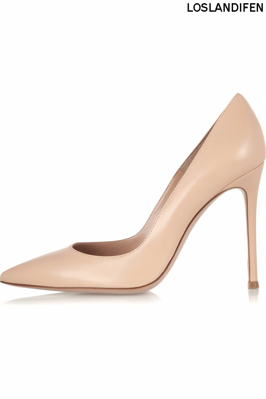 2018 nouveau Simple offre spéciale dames femmes à la main 100mm grande taille bureau de soirée à talons hauts pompes chaussures CKE044