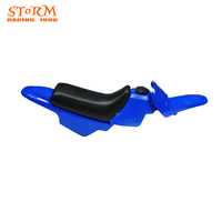 Motorcycle Complete Plastic Body Fenders Shell Cover Gas Fuel Tank Seat Kit For Yamaha PW50 PY50 PW PY 50 Dirt Bike