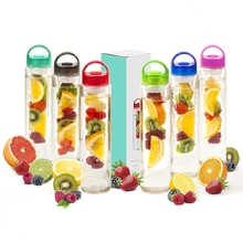 Infusion Water Bottle Space  juice Water Tumbler  outdoors Featuring Unique Leak-Proof  creative  Silicone Sealed Cap w/ Handle