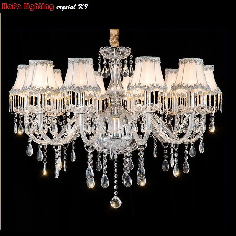 Crystal Modern Chandelier Lights Bedroom Living room chandeliers Crystal Lusters de cristal Chandelier Lighting Crystal Fixture restaurant white chandelier glass crystal lamp chandeliers 6 pcs modern hanging lighting foyer living room bedroom art lighting