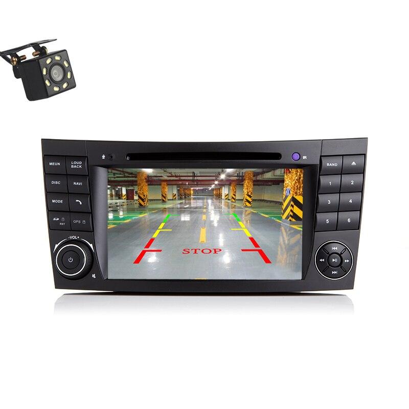 2 din Autoradio GPS Navigation lecteur DVD FM AUX pour Mercedes Benz W211 W463 CLS W219 Autoradio pour CLK W209 GPS Navi