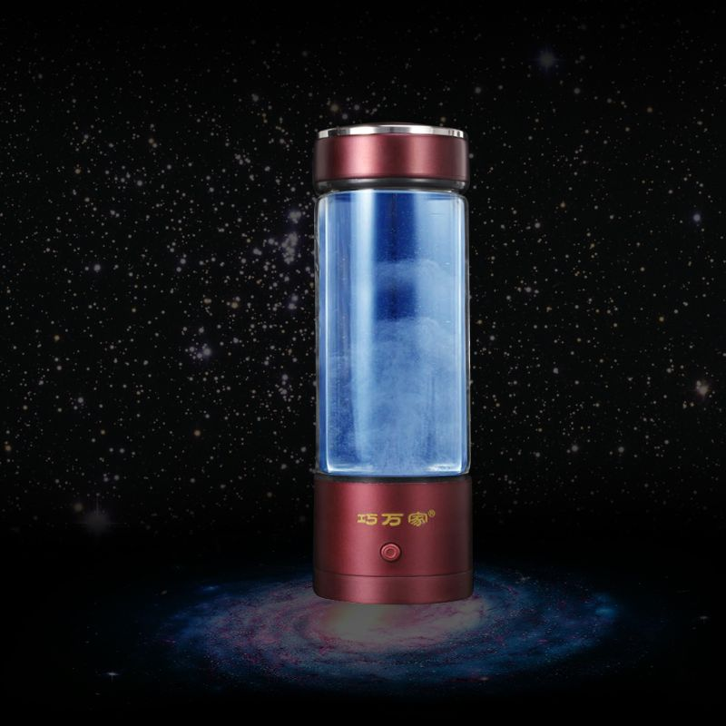 Double-couche riche hydrogène générateur d'eau bouteille SPE/PEM eau ioniseur bouteilles H2 & O2 séparé
