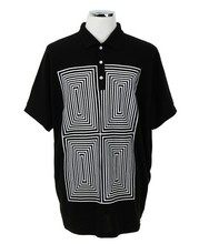 Mens T Shirts Fashion 2016 Men Loose Bat Sleeve Short Sleeved Polo Shirt Large Code Bat