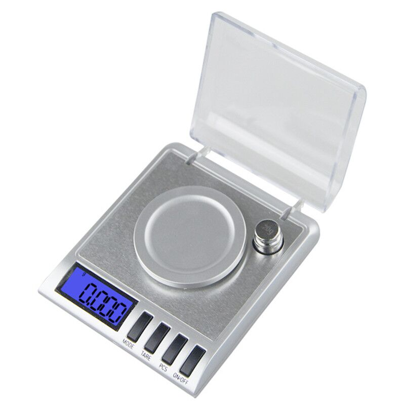 50g x 0.001g Mini High Precision Digital Weighing Tools Medical Laboratory Jewelry Balanca Digital Pocket Scale With Calibration весы balanca digital 100 0 01 g balance100g 0 01 digital scale 0 01g