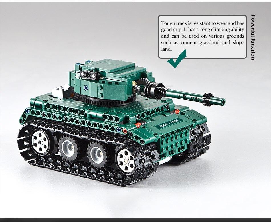 tanques blocos de construção compatível técnica ww2