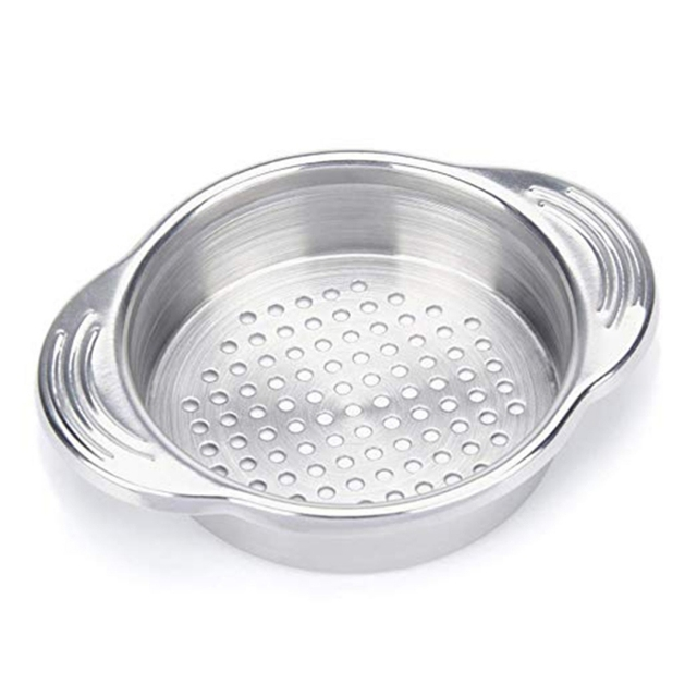 Kitchen Colander Blanco Sinks Stainless Steel Filter With Handle For Fine Food Strainer Can Drainer Tools Gadget