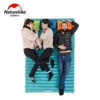 Naturehike NH17T120-U Kamp uyku pedi Şişme Yürüyüş hava yatağı Sırt Çantası Mat Dahili Pompa