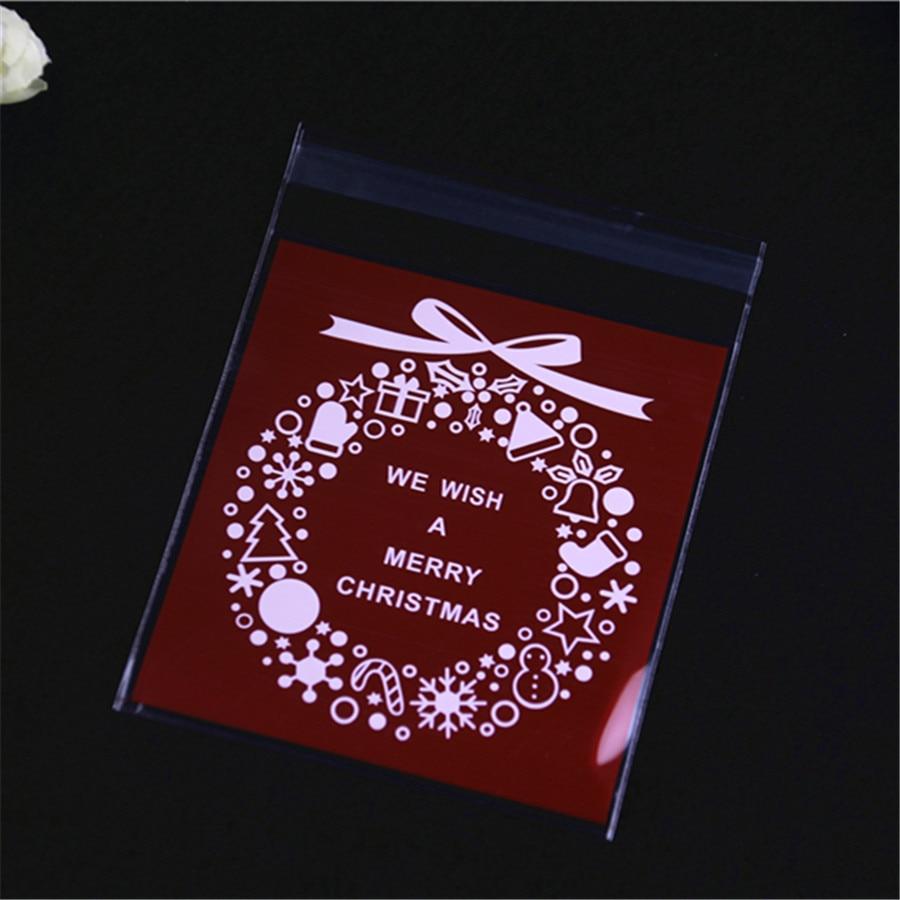 buy new design 100pcs lot 10x13cm sachet plastique bonbon with bow self. Black Bedroom Furniture Sets. Home Design Ideas