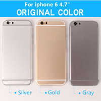 Brand New For IPhone 6 4 7 Replacement Chassis Back Housing Back Cover With Buttons Sim