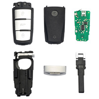 3 Buttons Entry Fob 3C0 959 752 BA Remote Auto Car Key Shell Case 433Mhz For