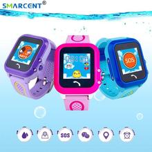 NEW! DF27 Waterproof Children GPS Swim phone smart watch baby watch SOS Call Location Device Tracker Kids Safe Anti-Lost Monitor