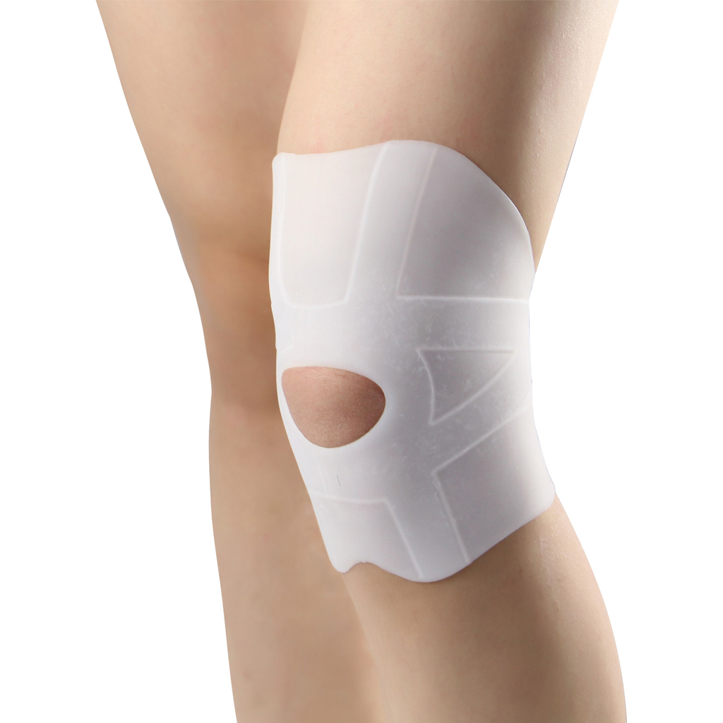 1 Pair Soft Silicone Gel Kneecaps Brace Support Wrap Strap For Knee Joint Pain Arthritis Joint Sore Relief