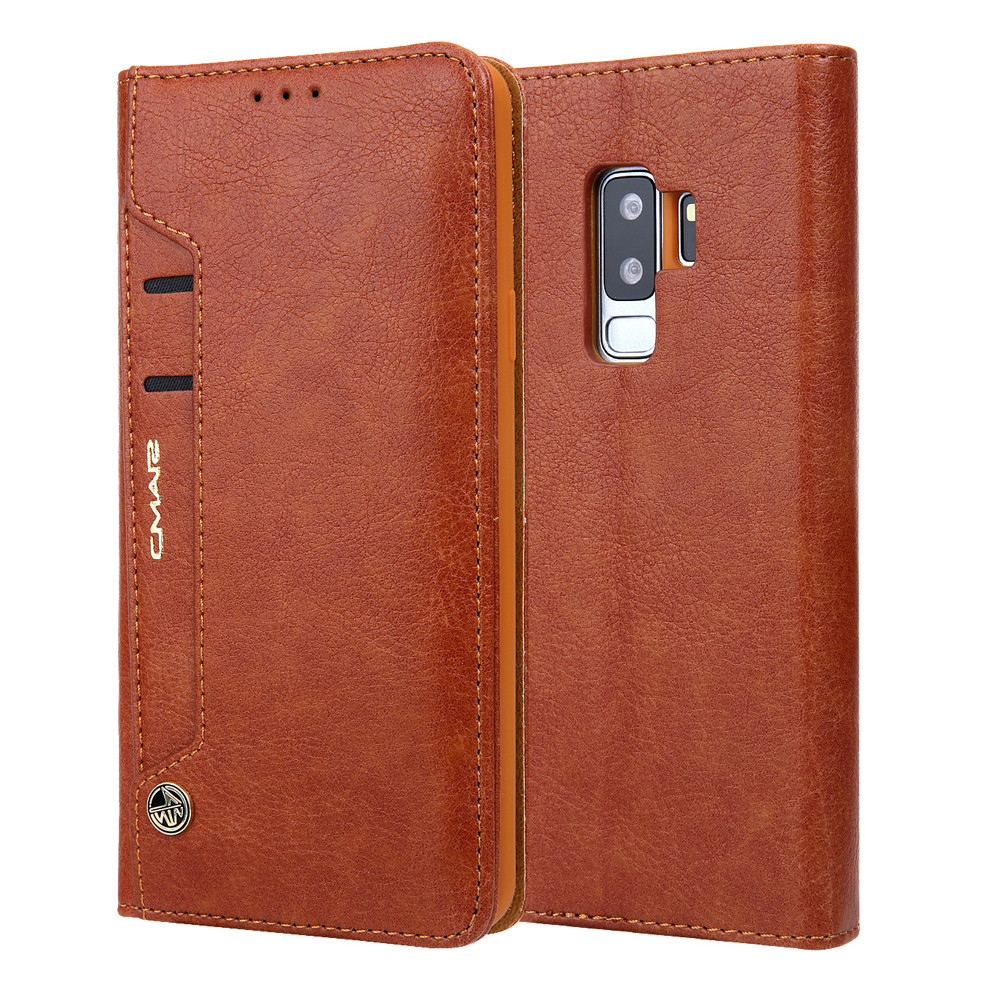 Screen Protector Money Clip Leather Protective Case Cover For Samsung Galaxy S9 Plus 6.2Inch USPS Dropshipping 17