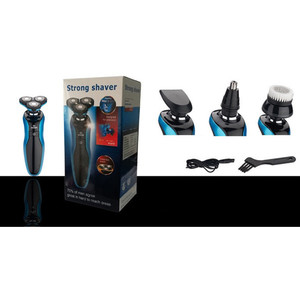 Image 5 - قابلة للشحن ماكينة حلاقة كهربائية الرجال قابل للغسل الرطب الجاف اللحية الحلاقة المتقلب آلة الحلاقة الكهربائية ماكينة حلاقة الوجه العناية 4D العائمة USB