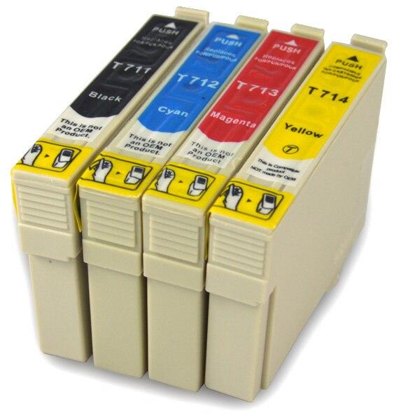 Für epson t0711 patrone für epson dx9400f d120 dx4050 dx4400 dx4450 dx5000...