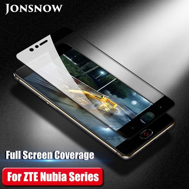 Tam ekran cam için ZTE Nubia Z17 Lite temperli cam Nubia M2 V18 Z18 Mini Z17 Mini S ekran koruyucu koruyucu Film