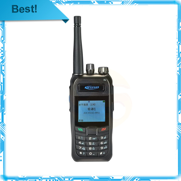 imágenes para Envío gratis pmr walkie talkie KIRISUN Digital radio S760 UHF 400 - 470 MHz Digital comercial talkies walkies