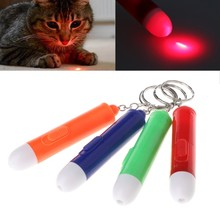 Brinquedos de plástico Engraçado Vara Gato Moda Pet Laser Pointer Pen Play Toy Durable JUL-4D(China)