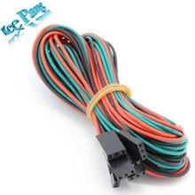 5 adet/grup 70 cm 3Pin Dupont Kablo Kadın Kadın 3 pin Jumper Tel için 3D Yazıcı Dupon Kiti 3D yazıcı Parçası Ücretsiz kargo