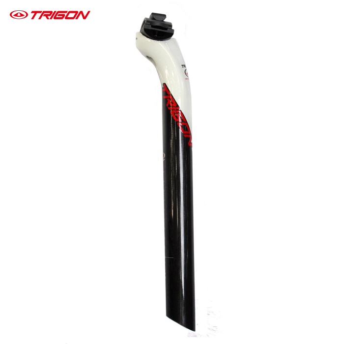 TRIGON SP108 ultra light carbon fiber bike icycle seatpost <font><b>seat</b></font> post carbon seatpost <font><b>seat</b></font> post white 31.6mm