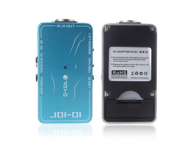 JOYO JDI-01 DI Passive Direct Box with Amp Simulation for Acoustic or Electric Guitar цены