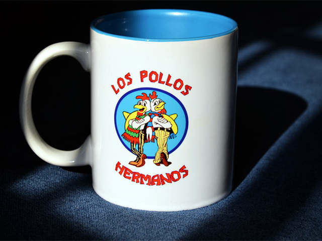 Los In Ceramic Coffee Cup Loveful Quality On Breaking Of Us19 99new Homeamp; Hermanos White Bad From The Mugs Garden Pollos Mug 2EDI9YWH