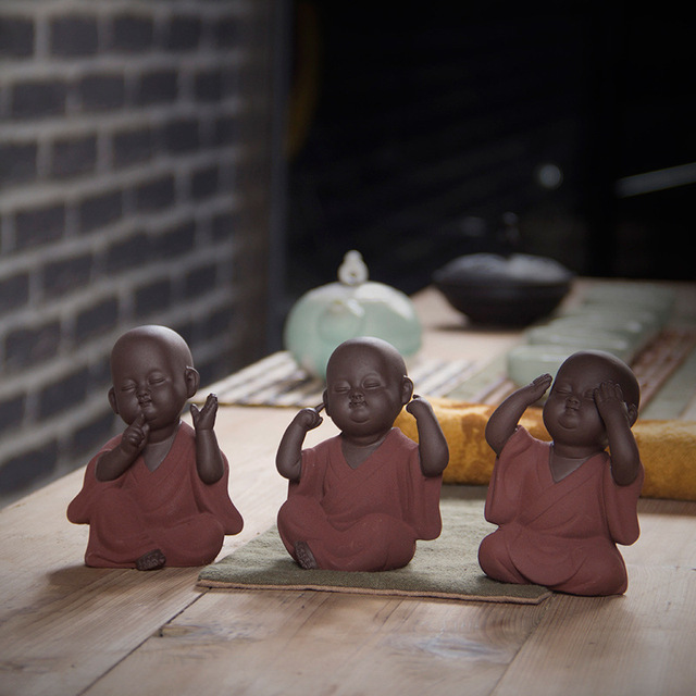 Ceramic Tea Statues 1
