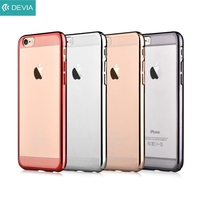 For IPhone 6 4 7 Inch COMMA Brightness Plating Slim Hard Back Case For IPhone 6