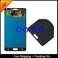 Adesivo + 100% testado Original Dispaly tela de LCD digitador assembléia para Samsung Galaxy Note N9100 4 - cinza / branco