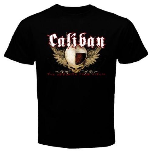 Cool CALIBAN five-piece metalcore band Heaven Shall Burn T-Shirt S M L XL 2XLBlack T-Shirt T shirt Mens Shirt