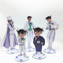 Anime Detective Conan Acrylic Stand Model Mainan Dua Sisi Action Figure Liontin Hadiah Mainan
