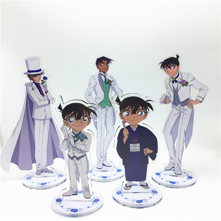 Anime Detective Conan Acrylic Stand Model Toys two-sided Action Figure Pendant toy giftAnime Detective Conan Acrylic Stand Model Toys two-sided Action Figure Pendant toy gift