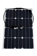 2pcs 30W Flexible Photovoltaic Solar Panel battery charger high efficiency solar cell
