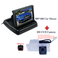 Камера ночного видения с ик-бордовый 800*480 дисплей 4.3 дюймов для автомобиля revesing для SsangYong Actyon для Korando для Rexton
