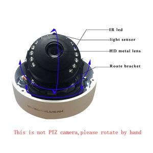 Image 3 - Wifi IP kopuła na zewnątrz kamera ochrony bezprzewodowej 720P 1080P SONY CMOS Onvif gniazdo kart sd 64G P2P IR Cut CCTV kamera ochrony domu