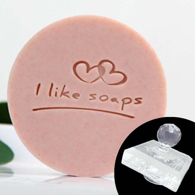 Natural Handmade Soap Stamp