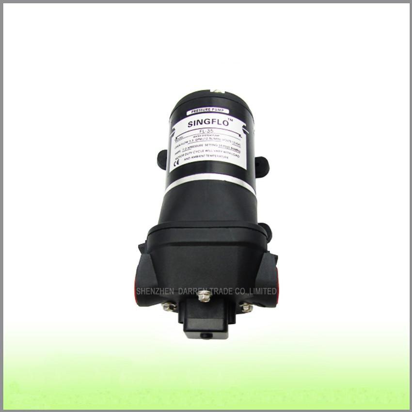 1PC 24v 12.5L/min 35psi Washdown Pump for RV/Marine Demand Diaphragm Water Pump,Low noise Exquisite workmanship все цены