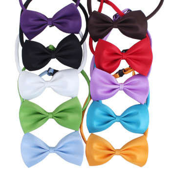 Christmas Pet Collar Bow Tie With Adjustable Neck Strap