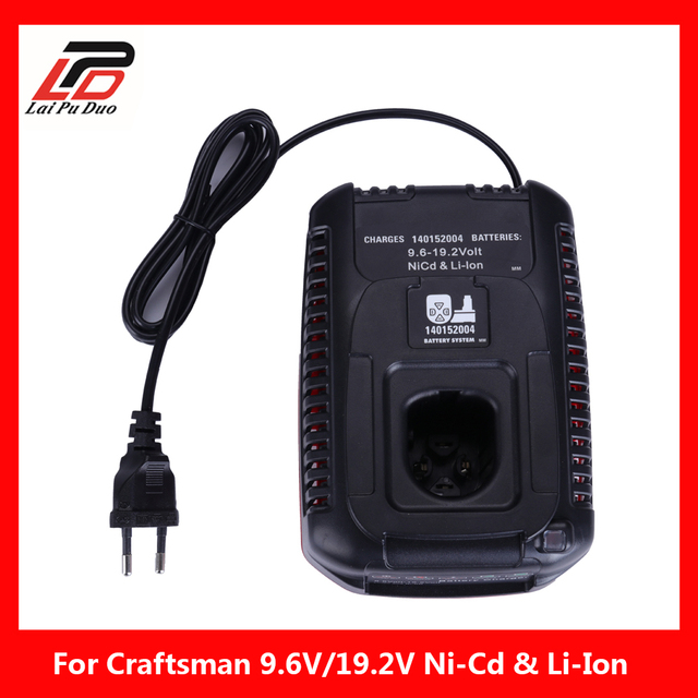 140152004 Battery Charger For Craftsman 100v 240v 9 6v 19 Ni Cd Li Ion