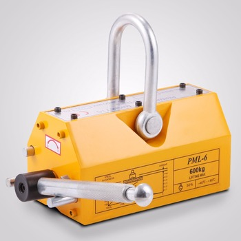 600KG Lifting Magnet Permanent Magnetic Hoist Lifter Handling Block Suspension