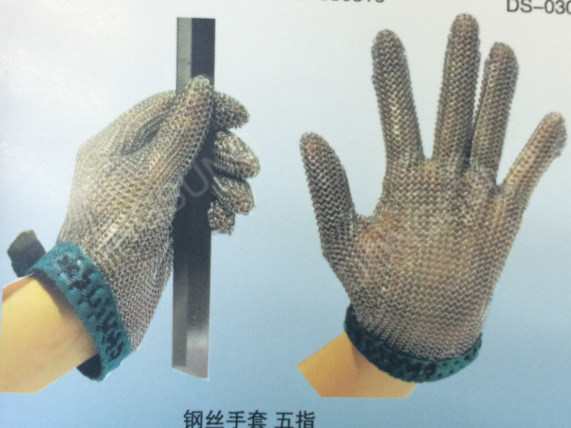 Sewing change gloves Strengthening anti cut gloves cut resistant gloves sewing wire cut resistant gloves single price note Size