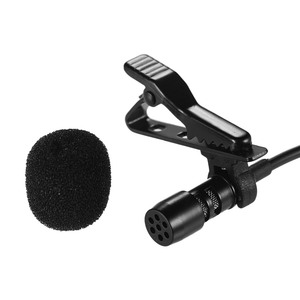 Image 3 - Mini Lapel Lavalier Clip on Condenser Microphone Mic with Type C Plug Wire System microphone for Android Smartphone