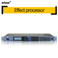 PA 2 in 6 out of professional processor stage performance professional digital audio processor