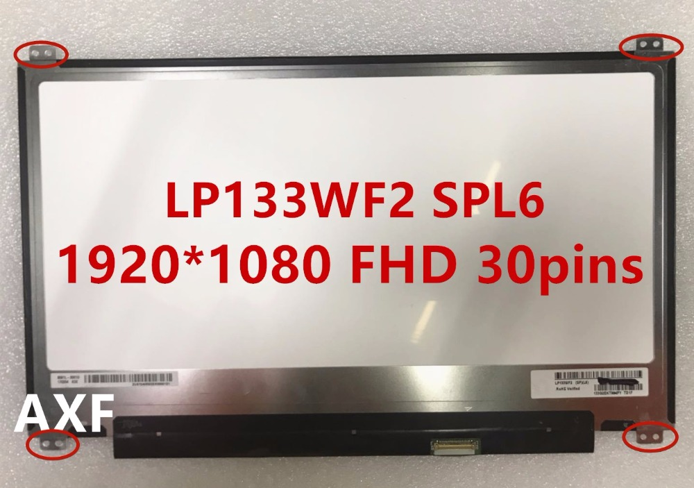 free shipping LP133WF2 SPL1 SP L6 SP L7 SP L9 LTN133HL05 NV133FHM-N42 B133HAN04.4 laptop screen 30pin FHD антенна l 025 62 атиг 7 1 1 60 42