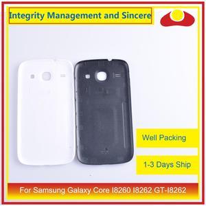 Image 3 - Per Samsung Galaxy Core I8260 I8262 GT I8262 GT I8260 Dellalloggiamento Del Portello Della Batteria Posteriore di Caso Della Copertura Posteriore Telaio Borsette di Ricambio